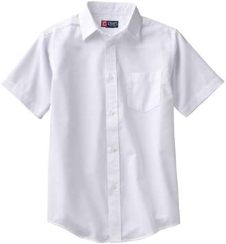 Chaps Boys 4-20 School Uniform Solid Oxford Button-Down Shirt