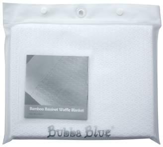 Bubba Blue Bamboo Bassinet Waffle Blanket