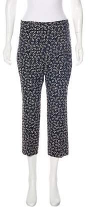 Ganni Floral Print Capri Pants