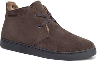 Trask Ariston Genuine Shearling Chukka Boot