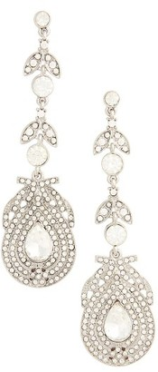 Women's Topshop Statement Leaf Drop Earrings $25 thestylecure.com