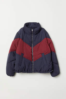H&M H&M+ Padded Jacket - Blue