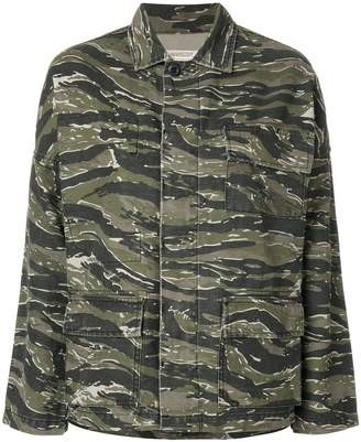 Current/Elliott camouflage jacket