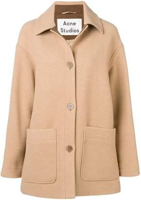 Acne Studios short cocoon coat