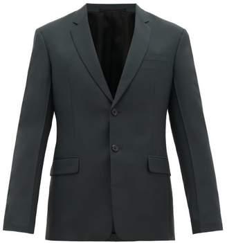 Prada Single Breasted Wool Blend Suit - Mens - Green