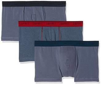 Esprit Men's 018ef2t015 Boxer Shorts (Grey Blue 420), Small (Manufacturer Size: 4)