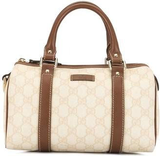 Gucci Pre-Owned GG Pattern Mini Boston Hand Bag