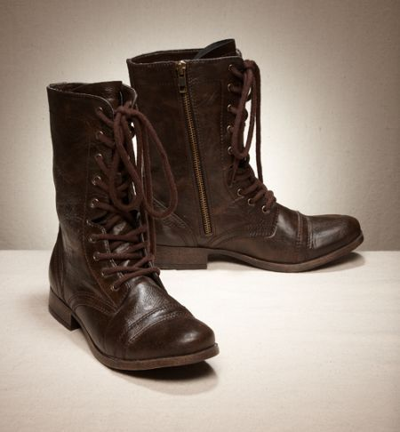 American Eagle AEO Lace-Up Moto Boots
