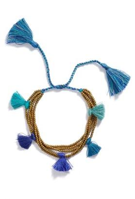 Women's Serefina Dacing Tassel Bracelet $40 thestylecure.com