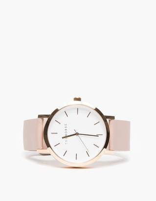 Rose Gold/Blush Band Watch $119 thestylecure.com
