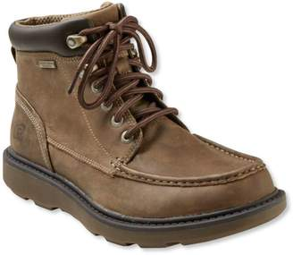 L.L. Bean L.L.Bean Men's Rockport Boat Builders Waterproof Boots, Moc Toe