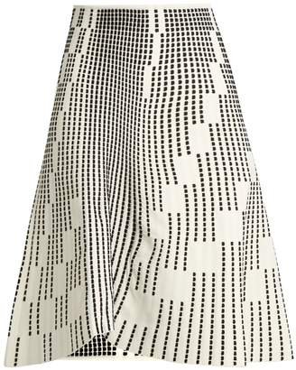 Roland Mouret Wilson textured-knit skirt