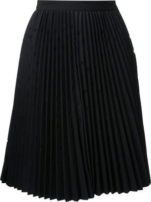 MSGM (エムエスジーエム) - MSGM ドット柄 プリーツスカート