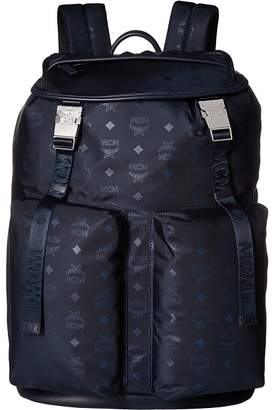 MCM Dieter Monogrammed Nylon Backpack Backpack Bags