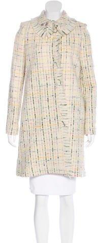 Chloé Chloé Wool Patterned Coat