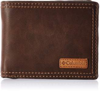 Columbia Men's Rfid Blocking Passcase Wallet