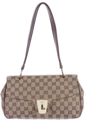 Gucci Gucci GG Canvas Shoulder Bag
