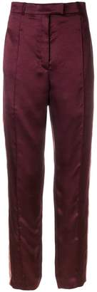 Nina Ricci high-rise side-striped trousers