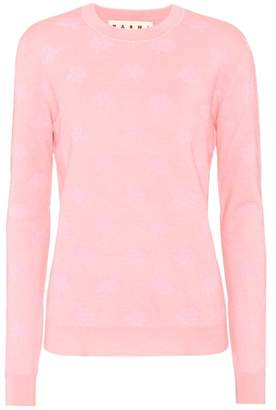 Marni Cashmere and silk-blend sweater