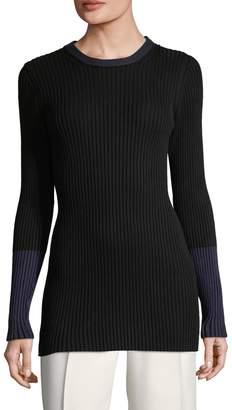 Victoria Beckham Women's Ribbed Crewneck Sweater