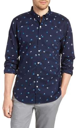 Bonobos Summerweight Slim Fit Flower Print Sport Shirt