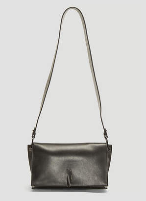 Off-White Off White Soft Flap Bag in Black