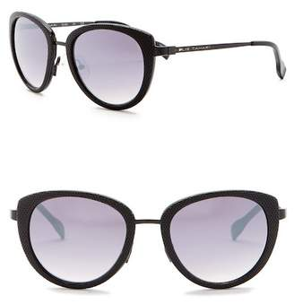 Elie Tahari 52mm Perforated Rounded Sunglasses
