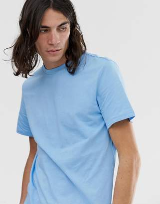 Weekday Alan T-Shirt Blue