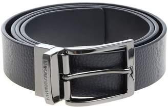 Emporio Armani Logo Detail Belt