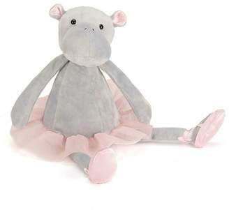 Pink Poodle Boutique Dancing Hippo Toy