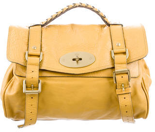 Mulberry Leather Alexa Satchel $630 thestylecure.com