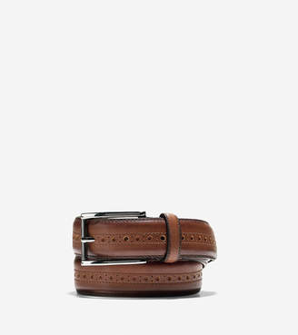 Cole Haan Hamilton Grand 32mm Brogued Belt