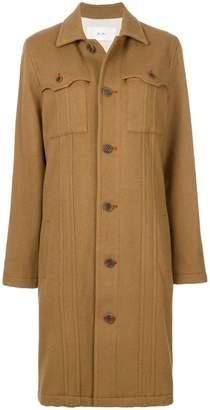 Julien David pocket detail coat