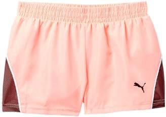 Puma Pacer Mesh Overlay Shorts (Big Girls)