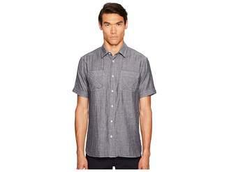 Billy Reid Clarence Short Sleeve Shirt Men's Clothing