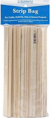 Midwest Products Project Woods Balsa & Basswood Strip Economy Bag