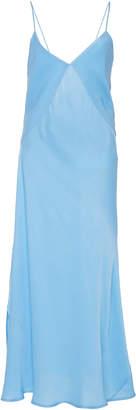 Victoria Beckham V-Neck Drape Dress