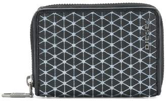 Diesel small zip around wallet