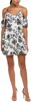 Do & Be DO+BE Do+Be Cold-Shoulder A-Line Dress