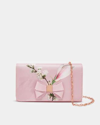 Ted Baker FIONA Harmony bow evening bag