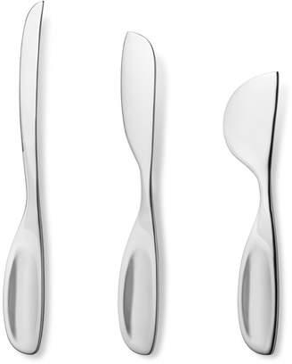 Georg Jensen Set of 3 Alfredo Cheese Knives