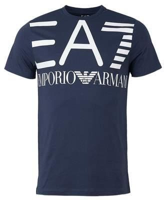 Ea7 Train Series Large Logo Crew T-shirt