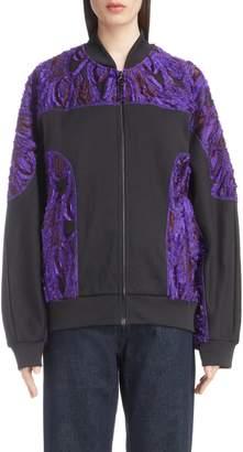 Dries Van Noten Textured Bomber Jacket