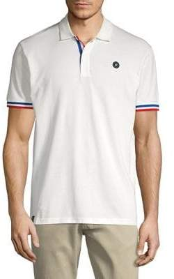 Jack and Jones Varsity Striped Polo Shirt