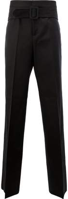 Yang Li belted tailored trousers