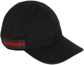 Gucci Gg Supreme Canvas Baseball Hat