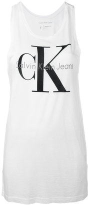 Calvin Klein Jeans CK tank top $41.01 thestylecure.com