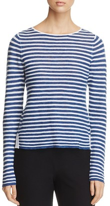 Eileen Fisher Striped Boat Neck Sweater $168 thestylecure.com