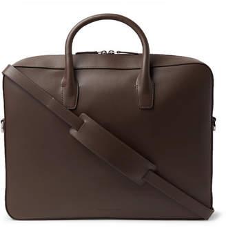 Mansur Gavriel Leather Briefcase - Chocolate