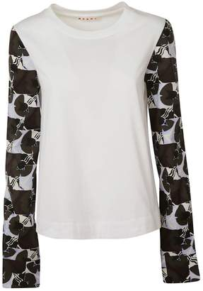 Marni Printed Sleeve T-shirt